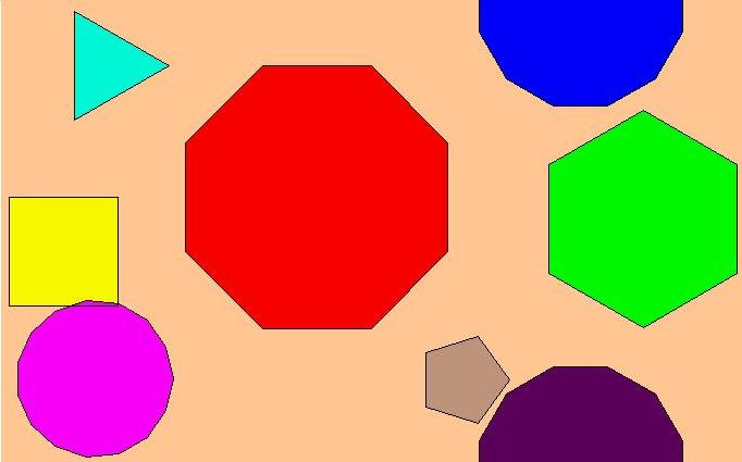 "The first topic in Year 7 next year is ""Shapes"". We will study ..."