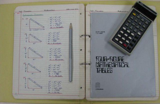 old math tools